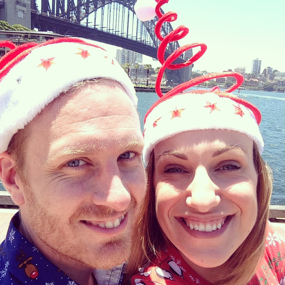 Christmas 2014 spent in Sydney, Australia. It was also our first as Mr and Mrs Luxton