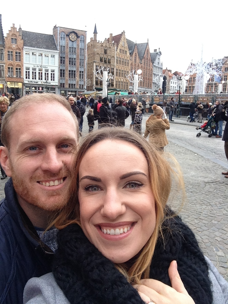 Maz took me to Belgium for my Christmas present. We went to the gorgeous Brugge for the day.