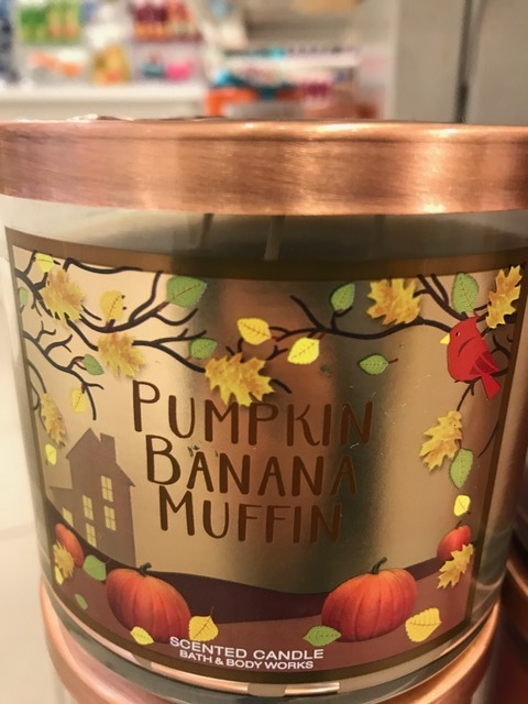 Does anything sound better than actually eating one of these bad boys?! I'd take a pumpkin banana muffin any time, any where and that's just how I feel about this scent! Light the candle and bake some muffins, people.