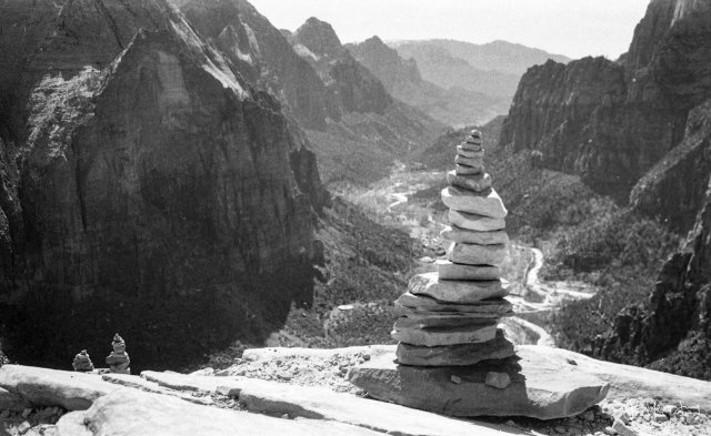 Image from my very first roll of film at Zion National Park
