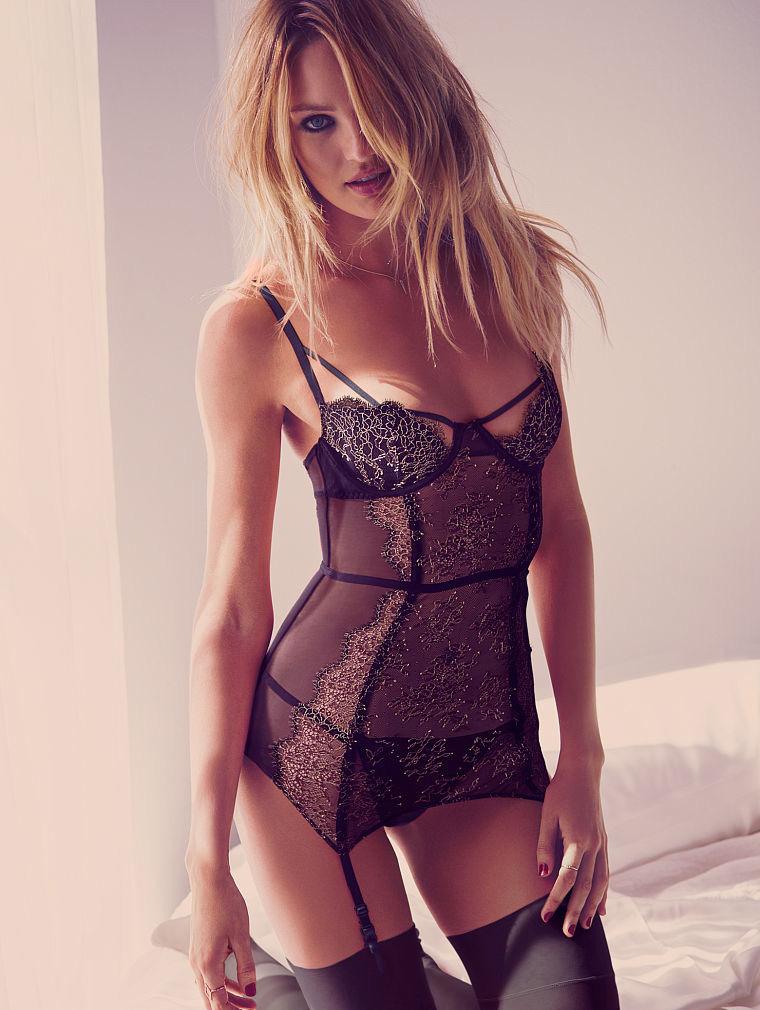 Candice Swanepoel Smolders In Victorias Secret Valentines Day 2015 Lingerie Anne Of Carversville