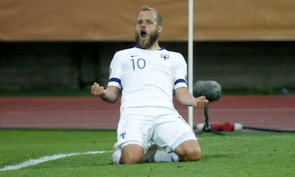 Pukki double sees Finland down Bosnia — AGONAsport.com