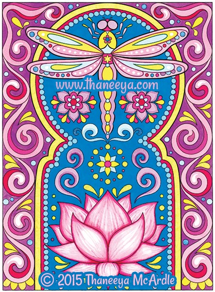 Follow Your Bliss Coloring Book By Thaneeya McArdle
