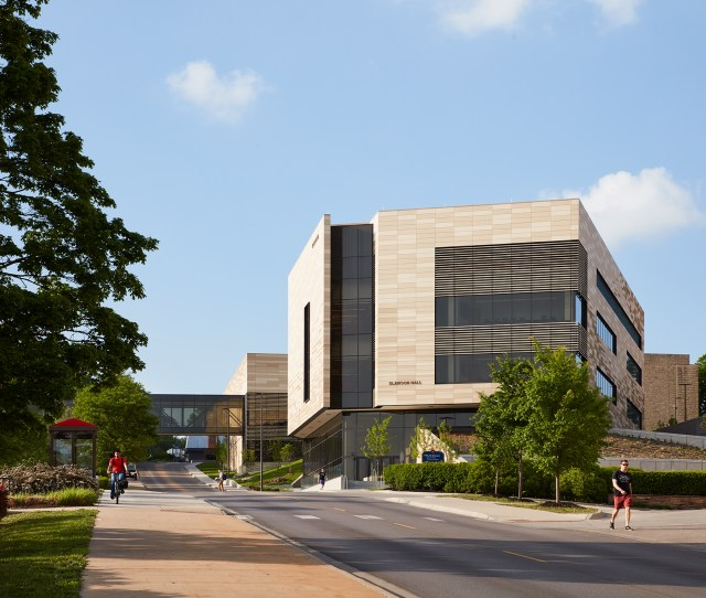 University Of Kansas Earth Energy Environment Center Gould Evans With Cannon Design Lawrence
