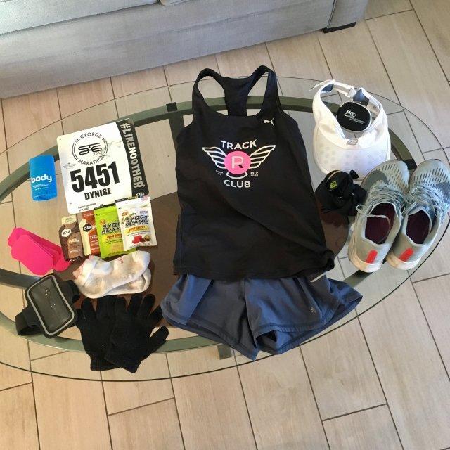 St George Marathon kit & gear