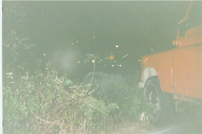 The only photo I have scanned of the Land Rover. If you look carefully there are clues that there's a story to be told about what happened next.