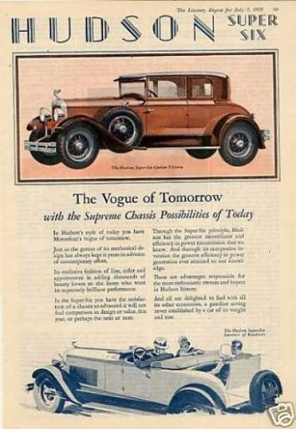 1920's - The Hudson Super Six