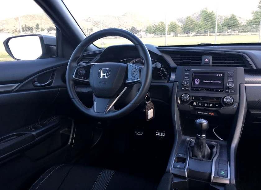 Civic Sport Interior