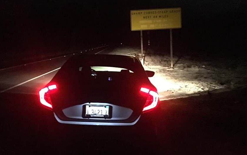 Civic Sport at night