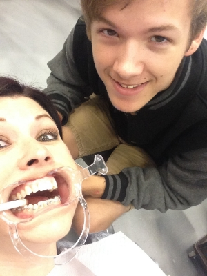 Getting my braces on 9/30/13