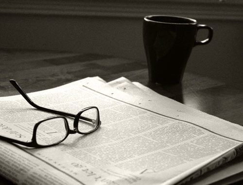 coffee-newspaper