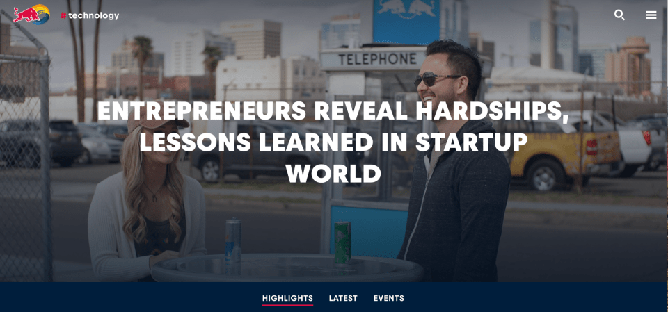 Entrepreneurs Reveal Their Startup Hardships on #theSKylerirvineshow - Redbull.com