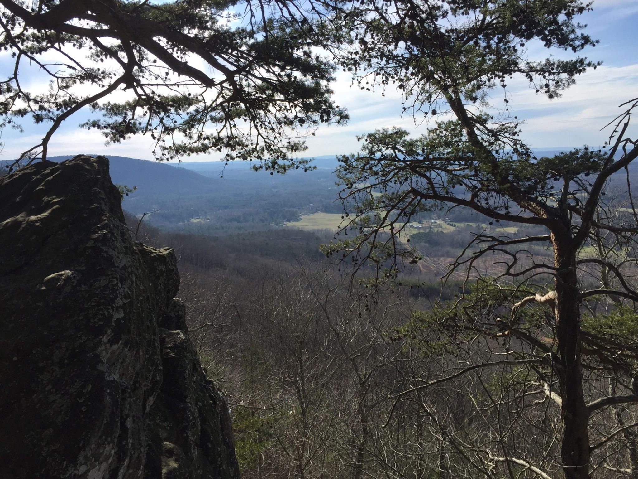 Amazing views from the crest of Dug Mountain.