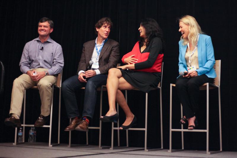 Andy Howell, Benevity, COO; Dave Sciuk, Benevity, VP Business Development; Sheila Warren, TechSoup Global, VP Strategic Alliances & General Counsel; Diane Solinger, Google, Global Lead GooglersGive