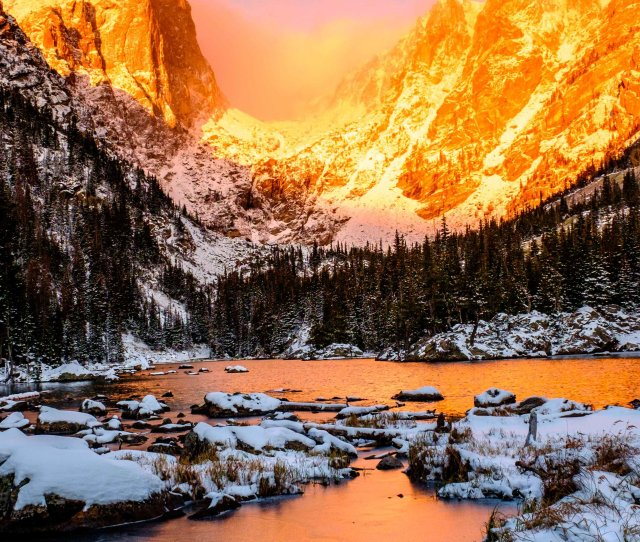 Rocky Mountain National Park Mobile Phone Wallpaper