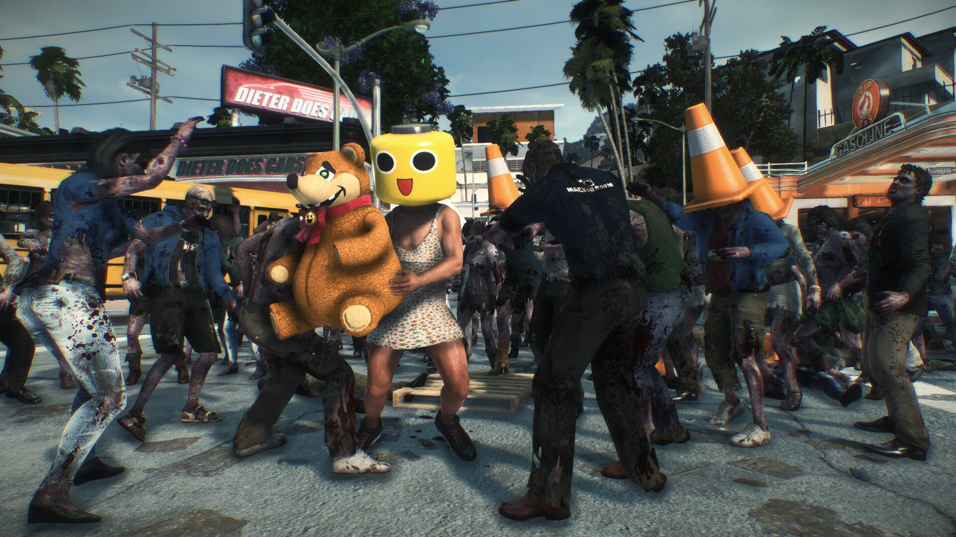 Dead Rising is a fun and atypical zombie game which allows for all kinds of shenanigans