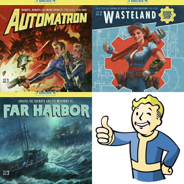 The DLC that has been revealed so far.