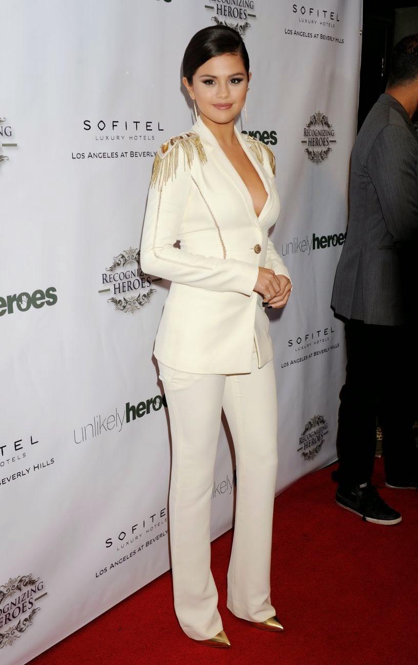 Selena Gomez wearing Versace.Google Images