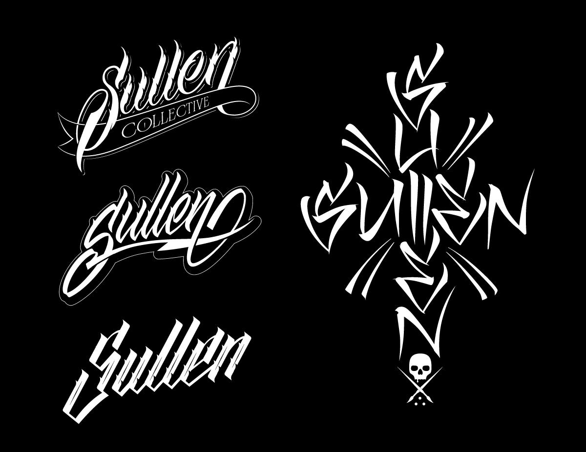 Sullen Lettering Custom