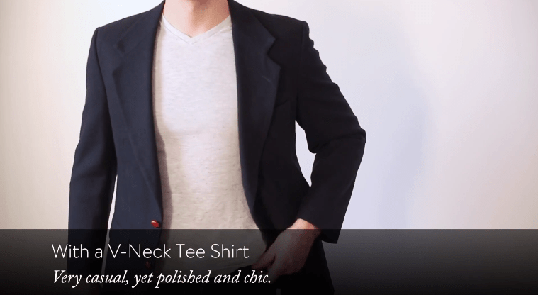 Square Neck Shirts For Men