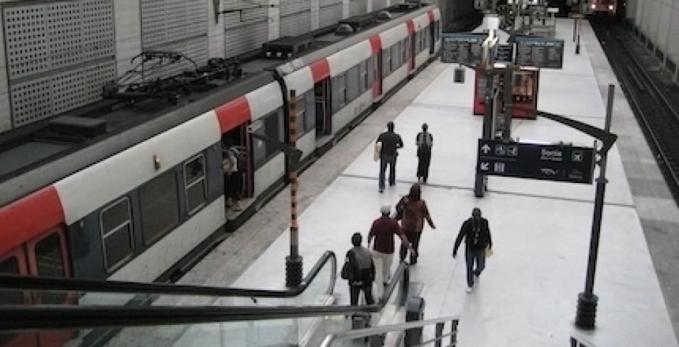 RER B station at Charles De Gaulle - Photo credit www.ratp.fr