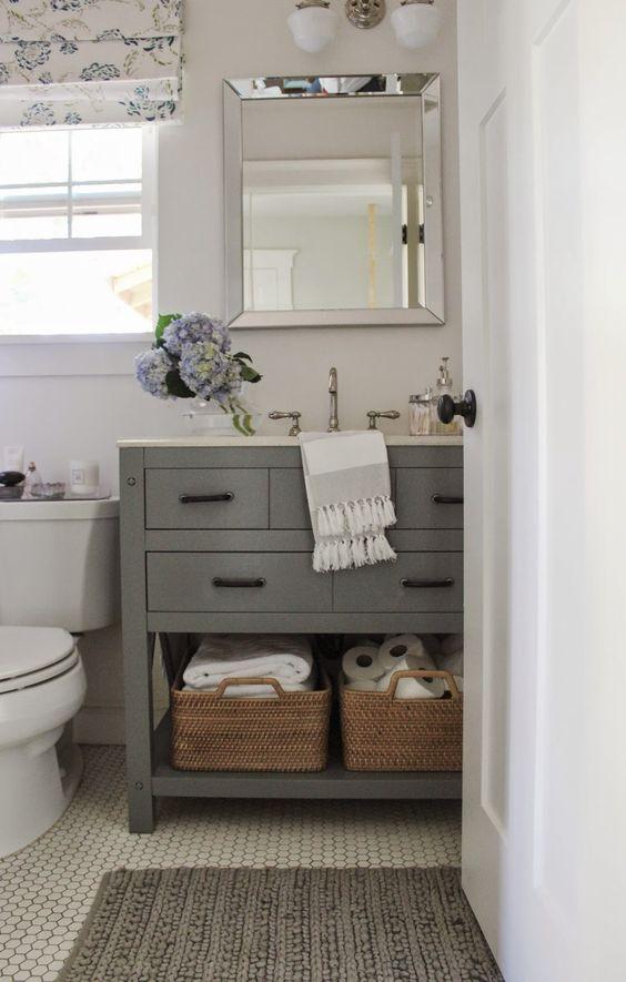 Small Home Style: Small Bathroom Vanity Ideas — Katrina ... on Ideas For Small Bathrooms  id=64065