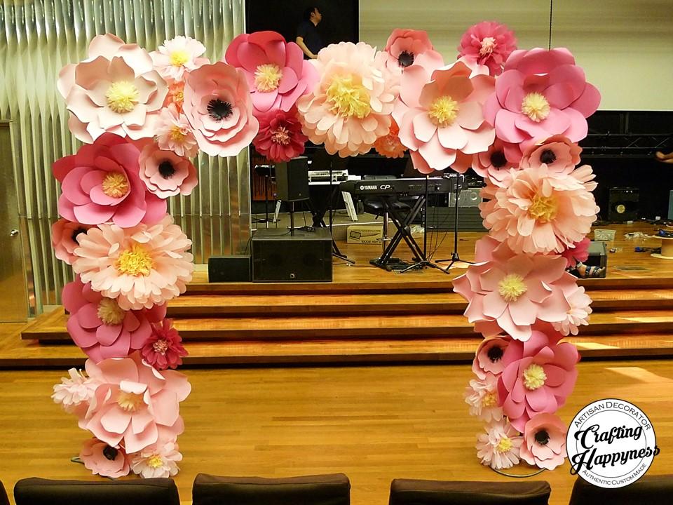Rare Paper Flowers Wedding
