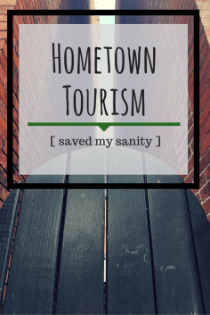 Learning to discover my own city helped keep me from going coocoo!