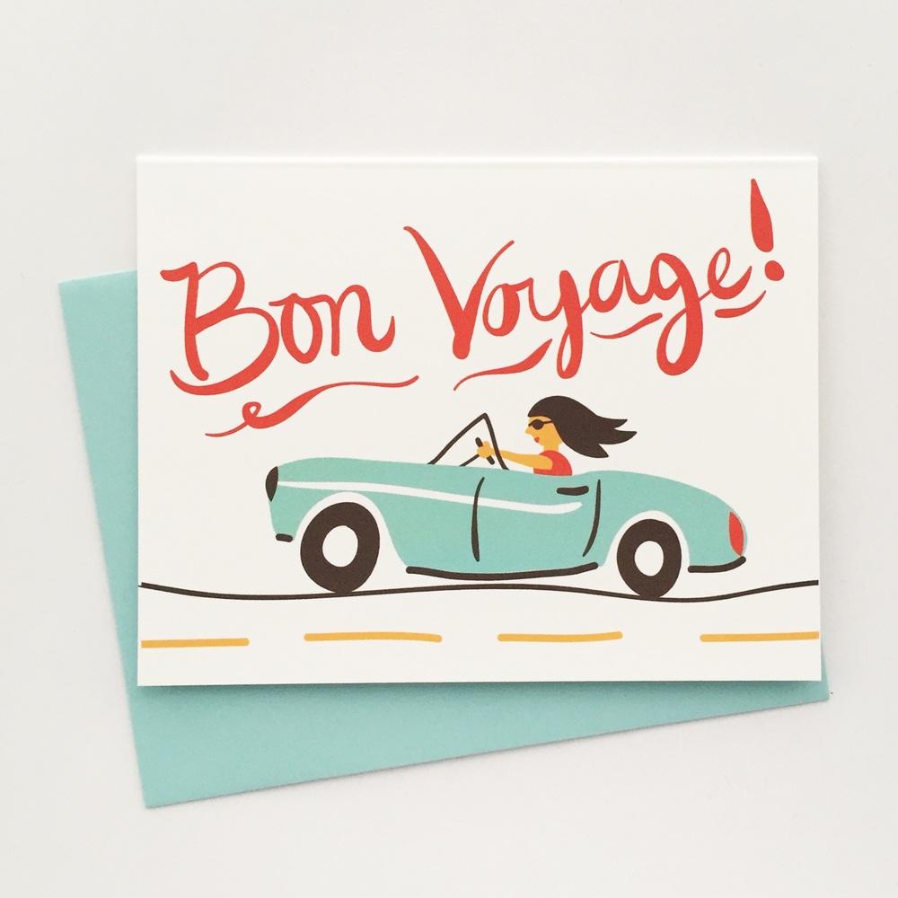 Bon Voyage Luna Stationery