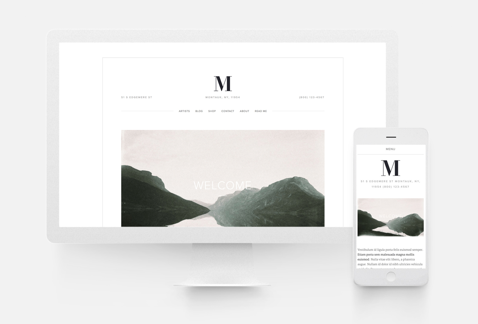 SQUARESPACE WEBSITE TEMPLATES 10twelve Creative Agency Chicago