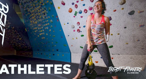 Athletes     Beast Fingers Climbing