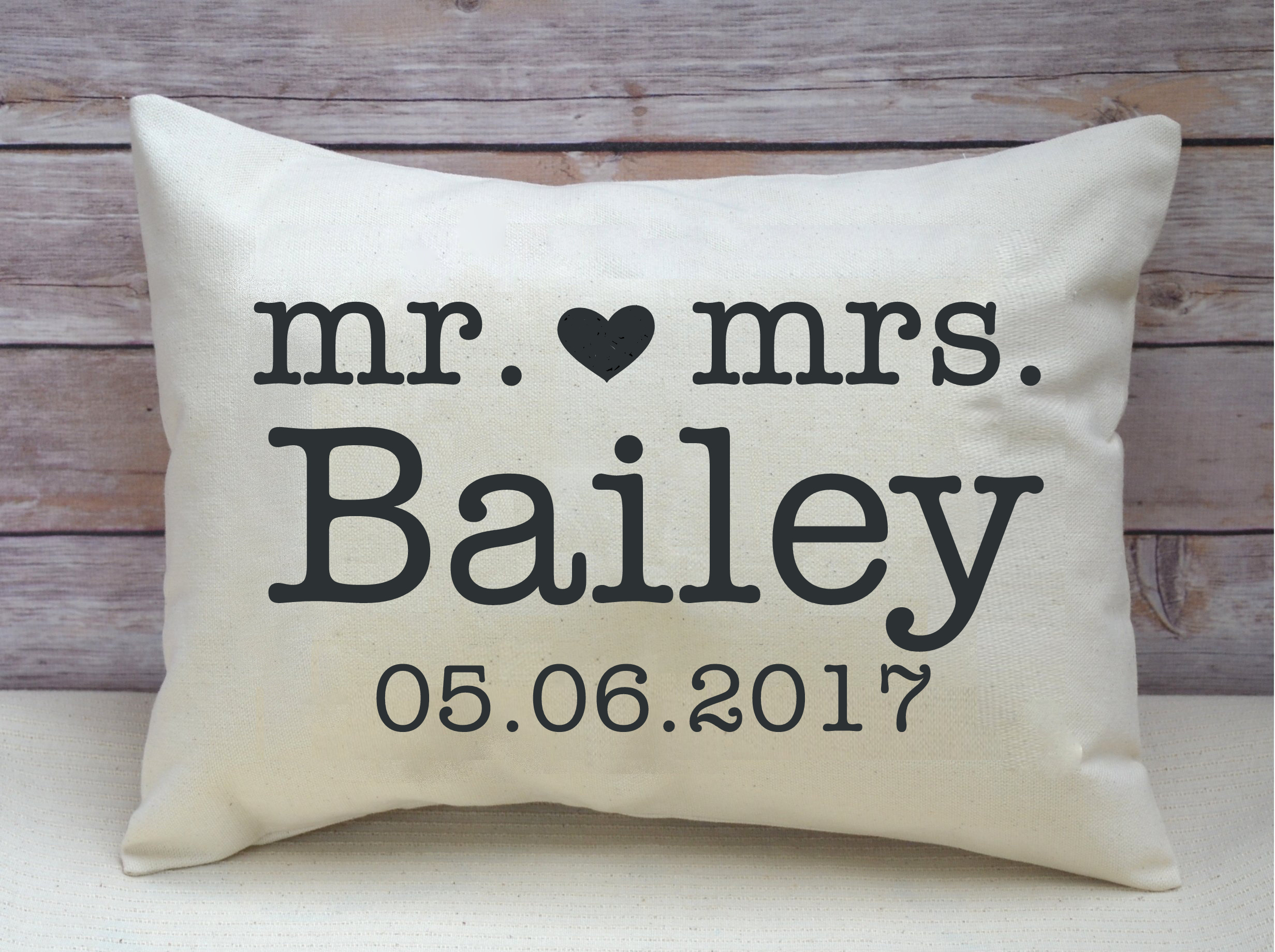 https www featherhen com shop mr heart mrs personalized pillow with date