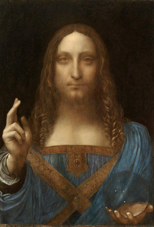 Leonardo's $450m 'Salvator Mundi'