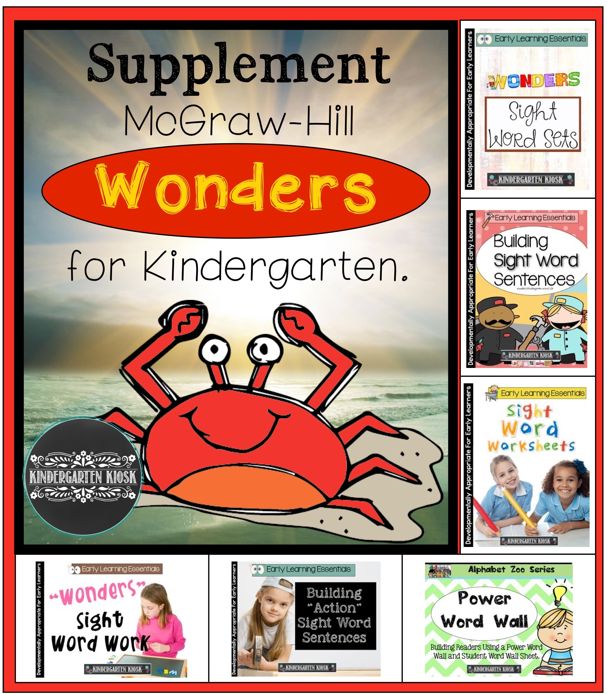 Mcgraw Hill Reading Wonders For Kindergarten