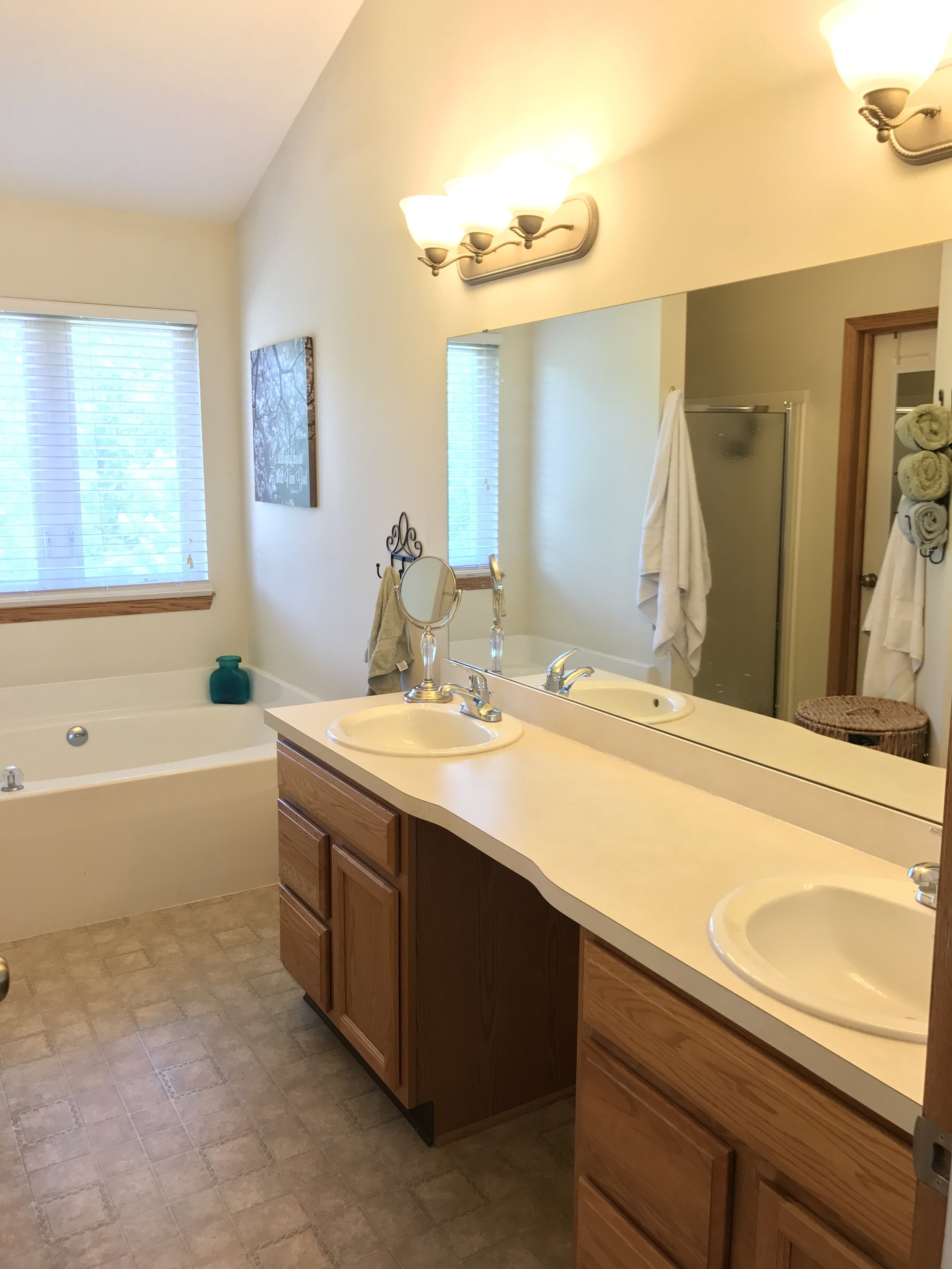 How To: Master the Modern Farmhouse Bathroom {under $500 ... on Modern Farmhouse Shower  id=32395