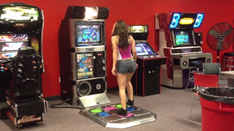 Dance Dance Revolution (DDR) was a hit arcade game from the 90s. Build your own DDR game with Scratch and Makey Makey as a fun holiday activity.