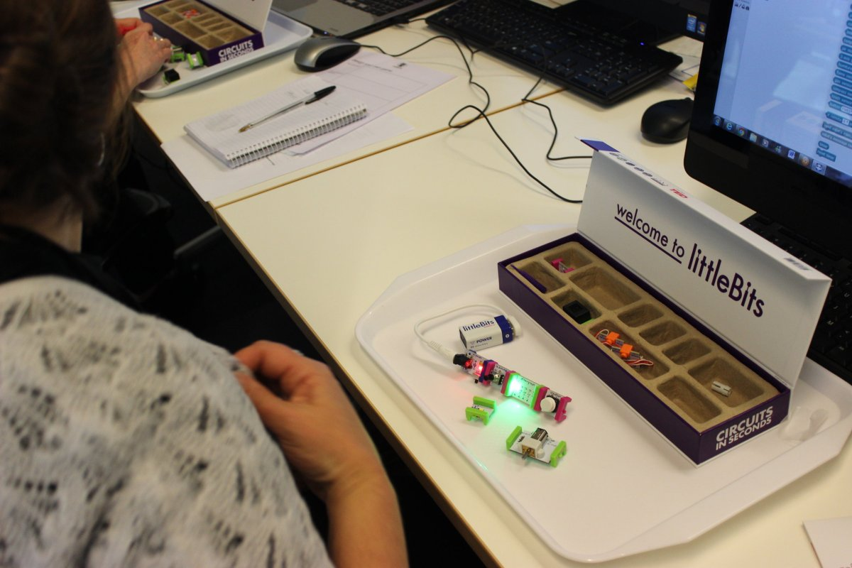 Inventing with littleBits at Cooroy Library