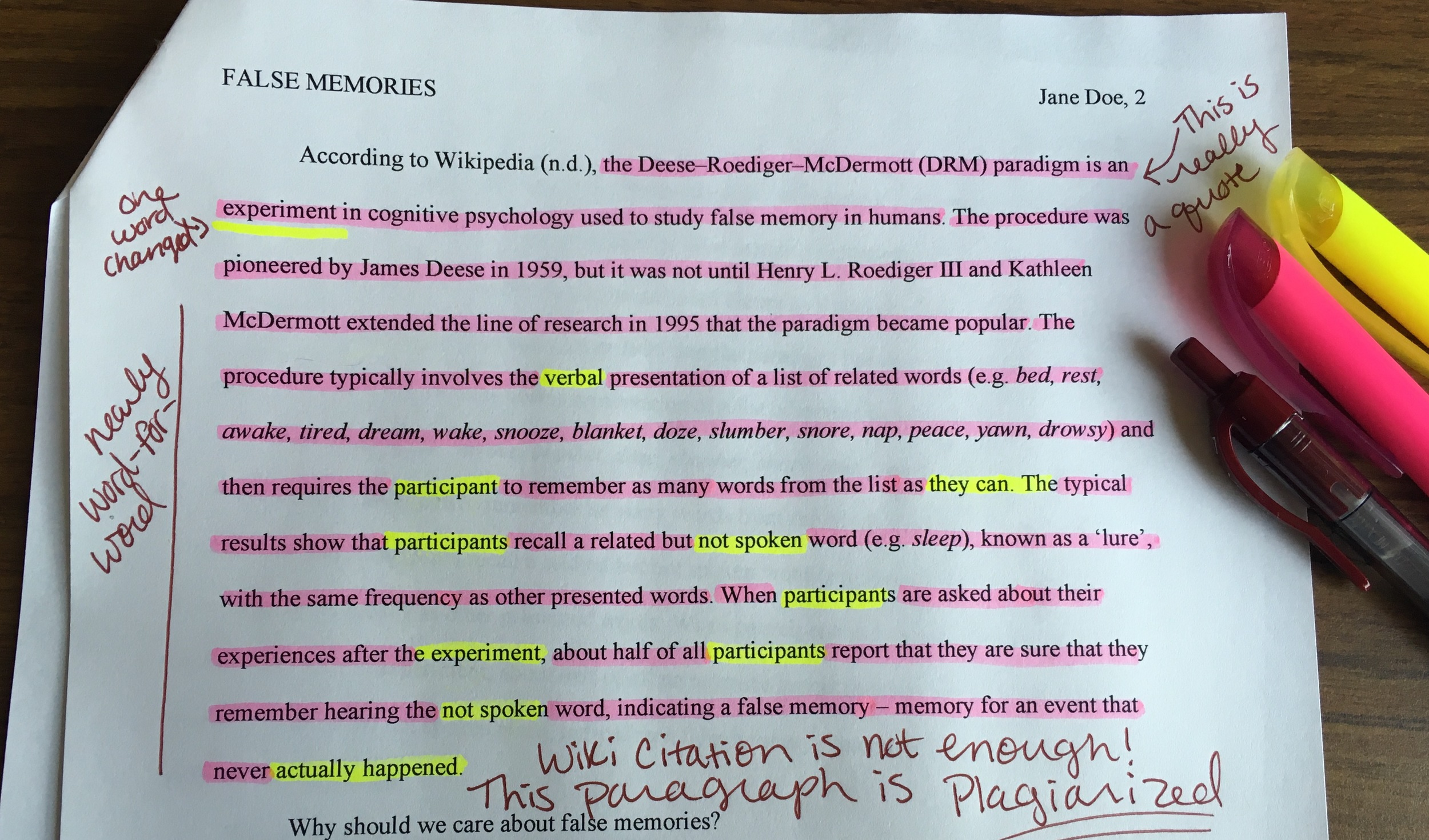 Tips for Teachers: Dealing with Plagiarism — The Learning ...
