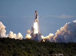 In 1981, the Space Shuttle Columbia blasted off, launching a new era in space exploration.