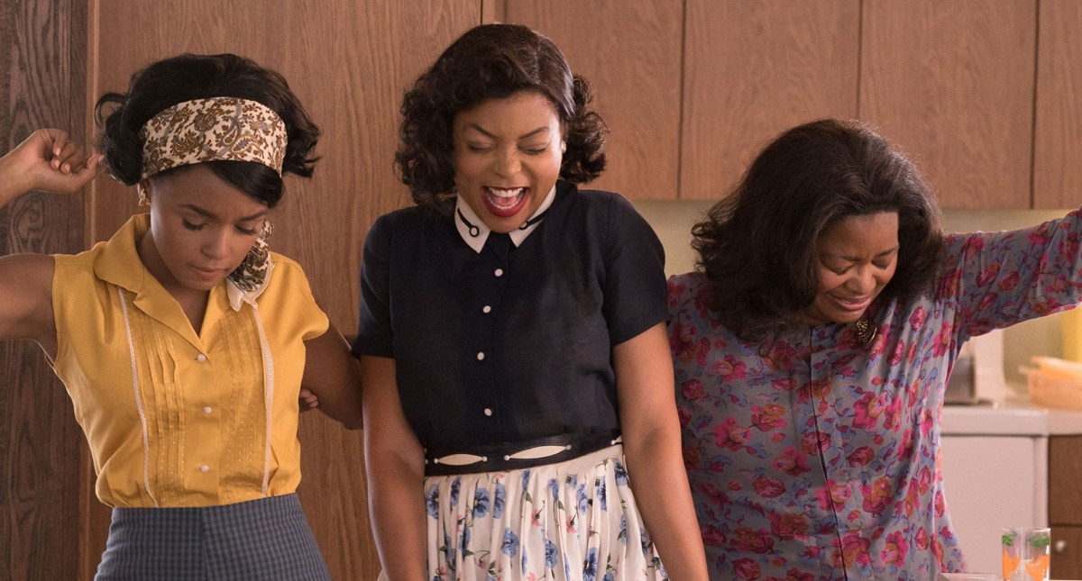 Janelle Monae, Taraji P. Henson and Octavia Spencer
