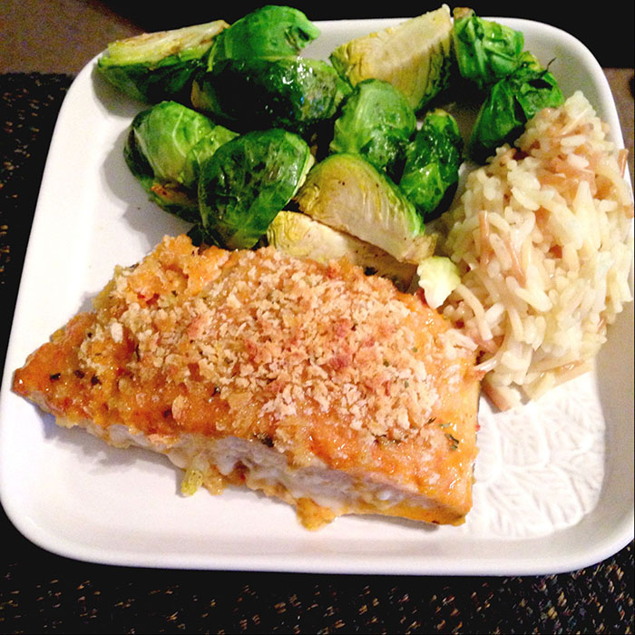 New years day salmon