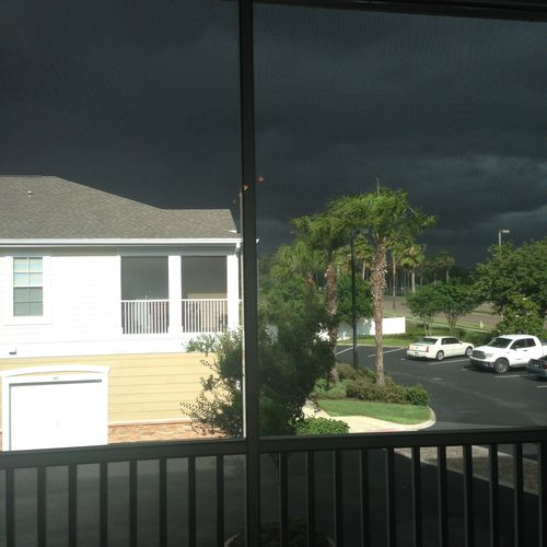 Afternoon storm severe