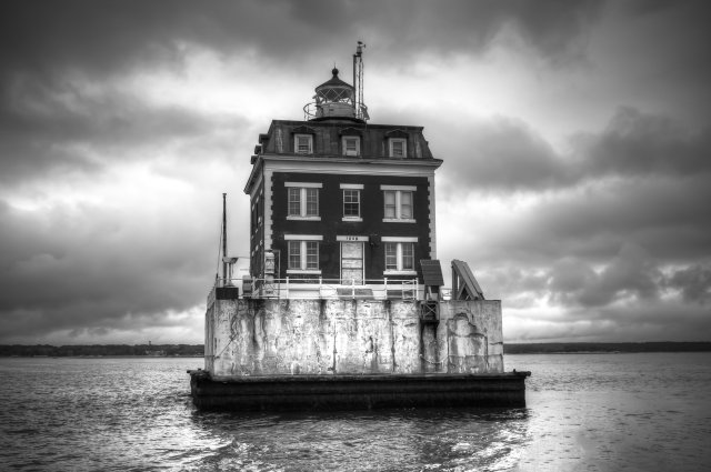 Image result for New London Ledge Lighthouse, Connecticut:
