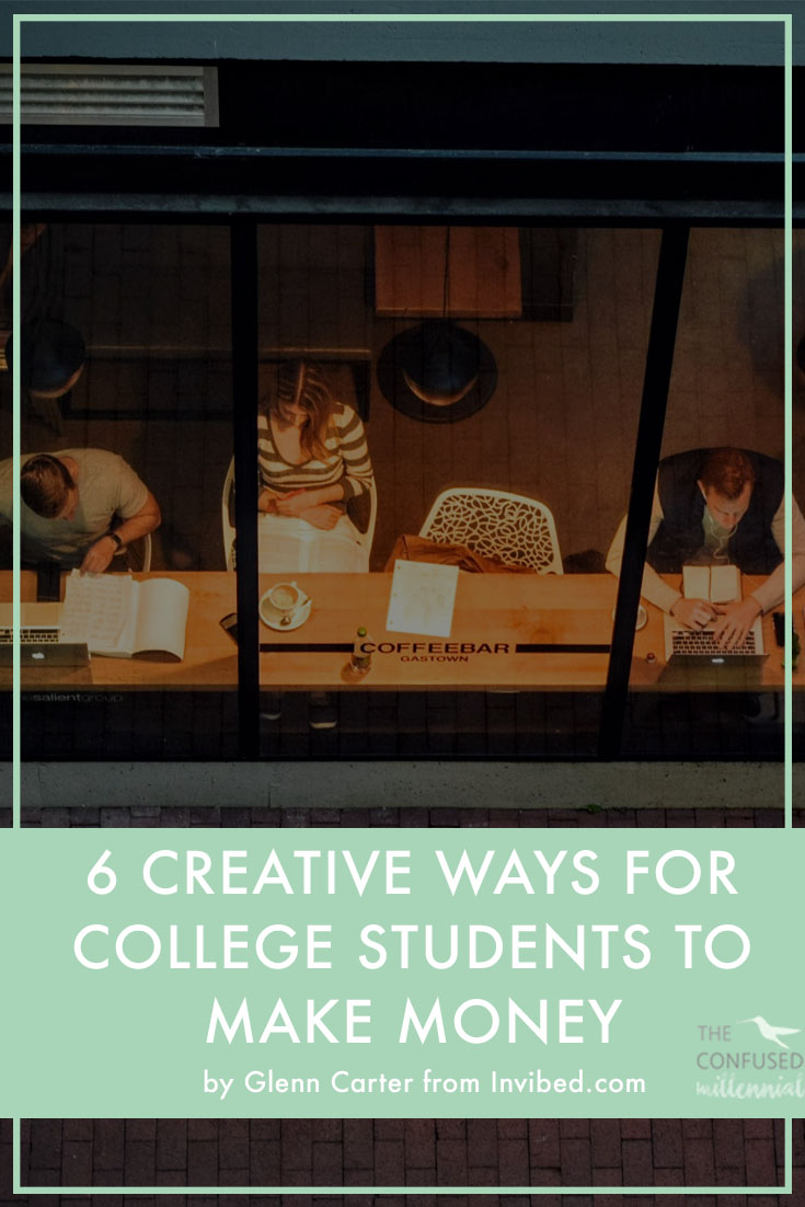 Earning some money as a college student can feel impossible. Check out these creative ways for college students to make money and start a side hustle so you can graduate with less student debt and more financial freedom.