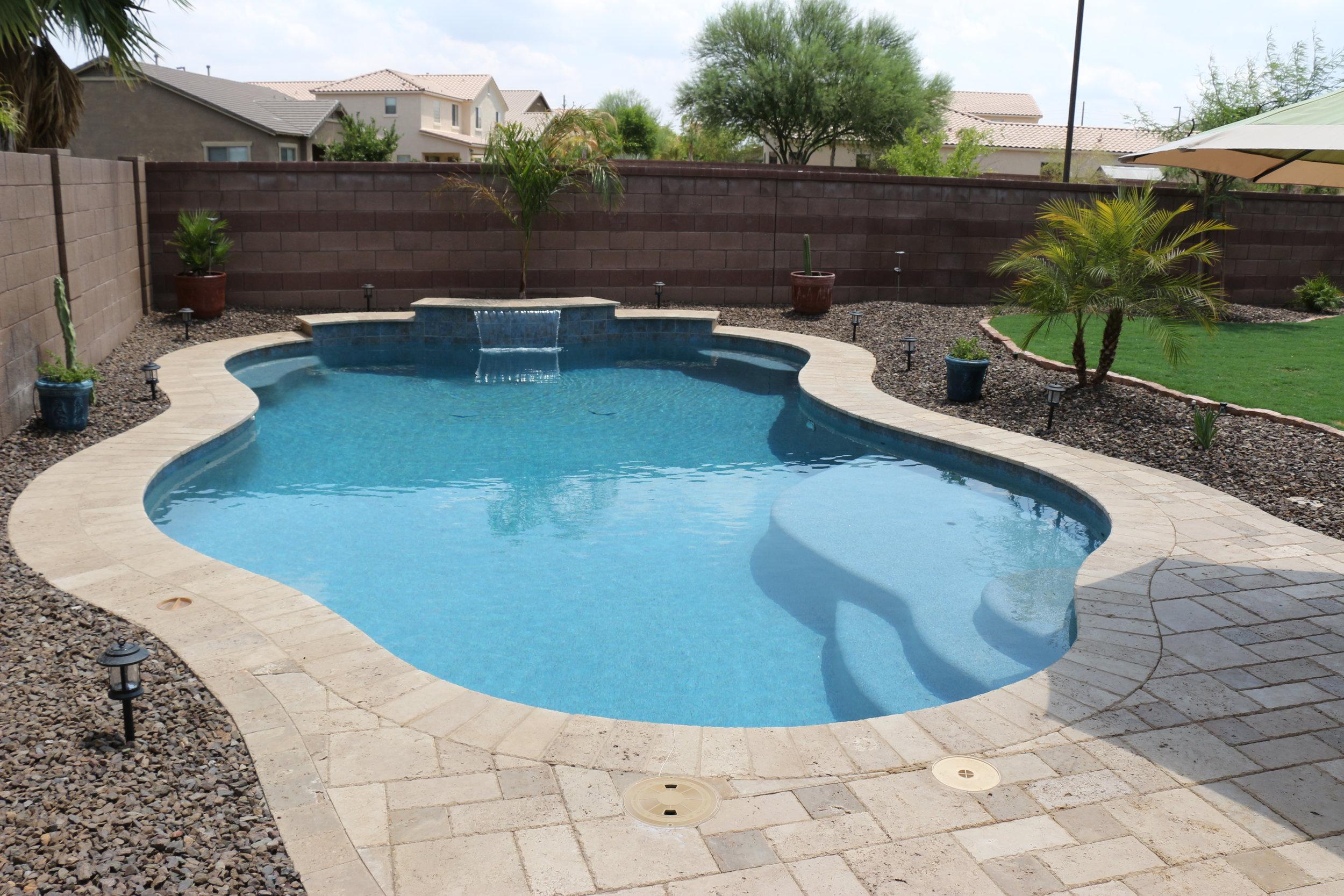 Simple Backyards — Presidential Pools, Spas & Patio of Arizona on Basic Patio Ideas id=32544