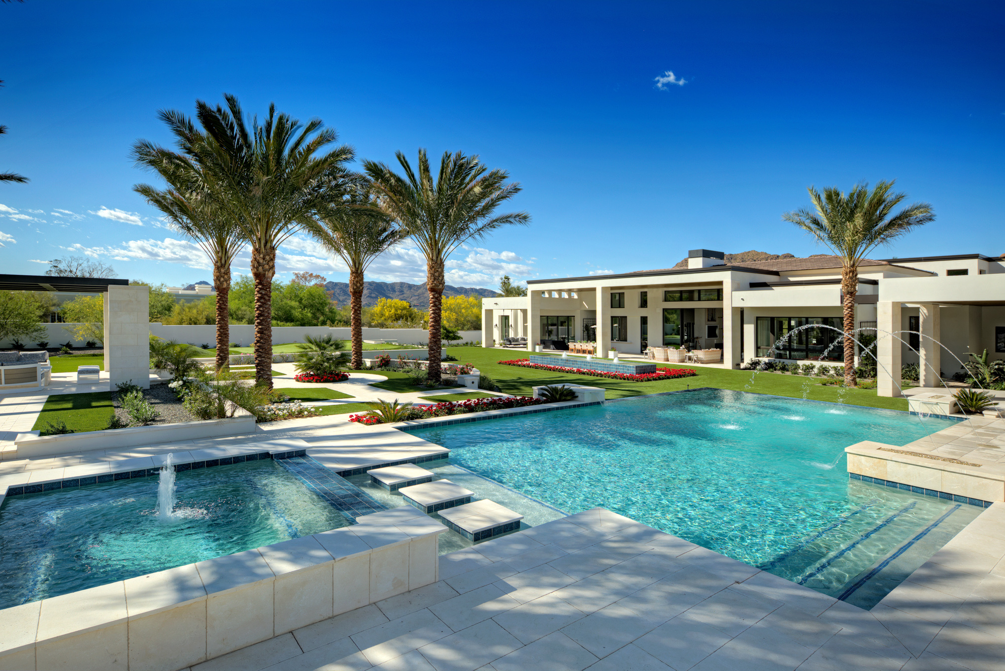 Luxury Backyards — Presidential Pools, Spas & Patio of Arizona on Luxury Backyard Design id=21307