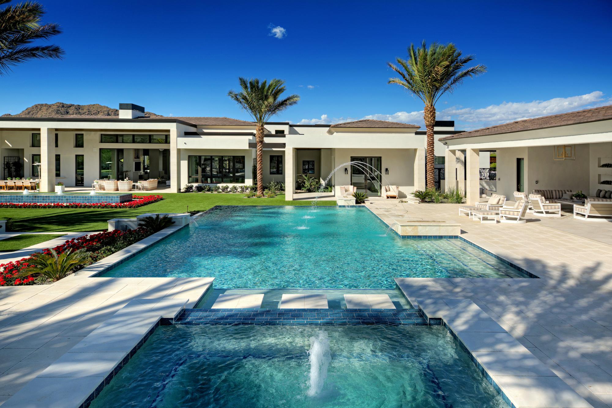 Luxury Swimming Pool Designs — Presidential Pools, Spas ... on Luxury Backyard Design  id=88451
