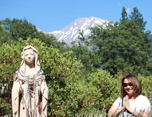 The Mother Mary and Kwan Yin Garden | Mt. Shasta, CA, USA