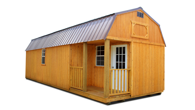 Side Lofted Barn Cabin Cumberland Buildings Amp Sheds