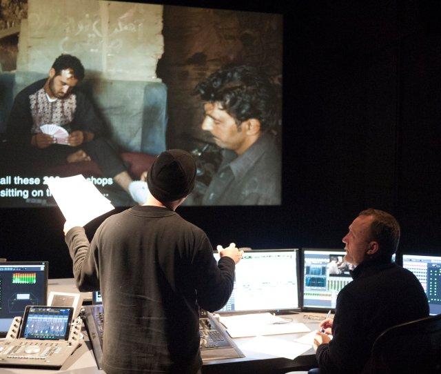 Behind The Scenes James Longley And Henrik Garnov Making Sound Magic